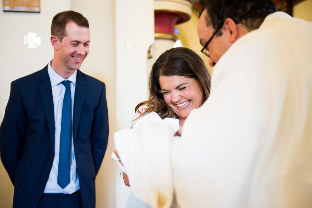 Natural christening photography