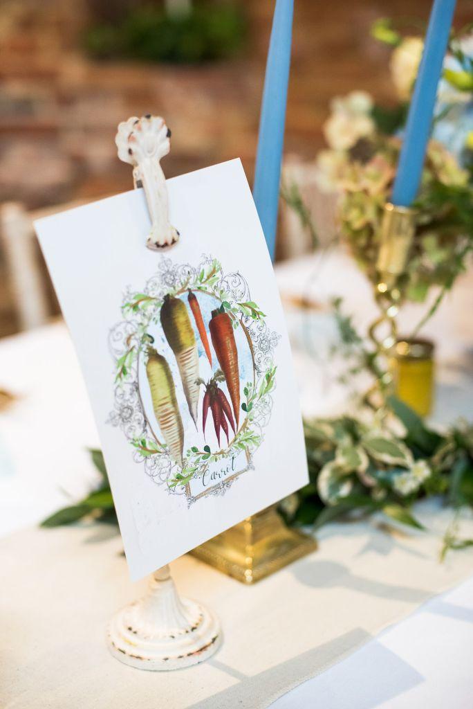 Vintage Postcards for Table Name Decor, Spixworth Hall wedding