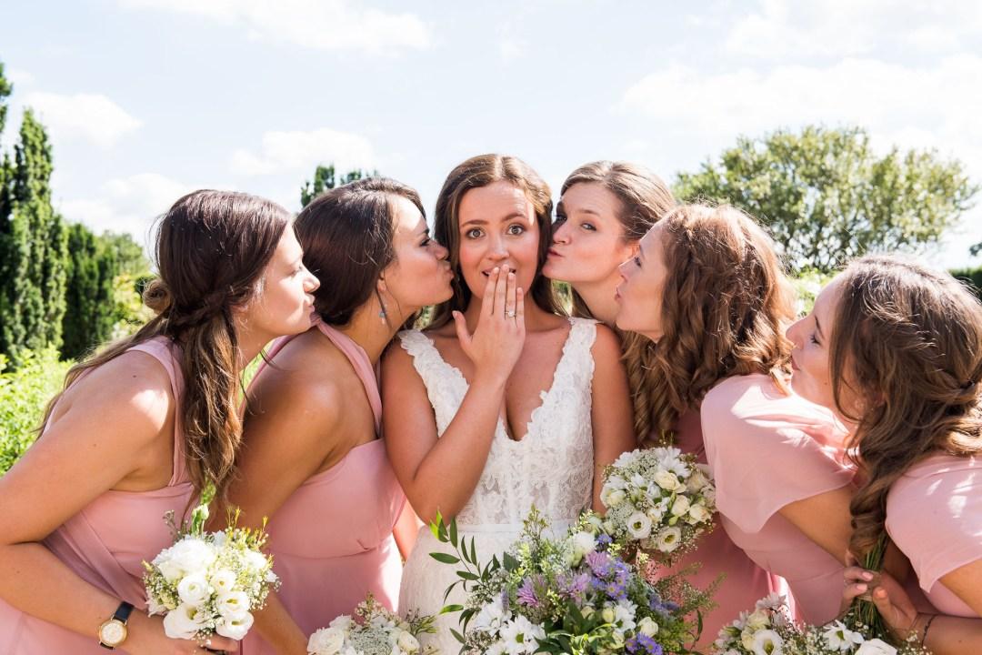 Group wedding photography Surrey