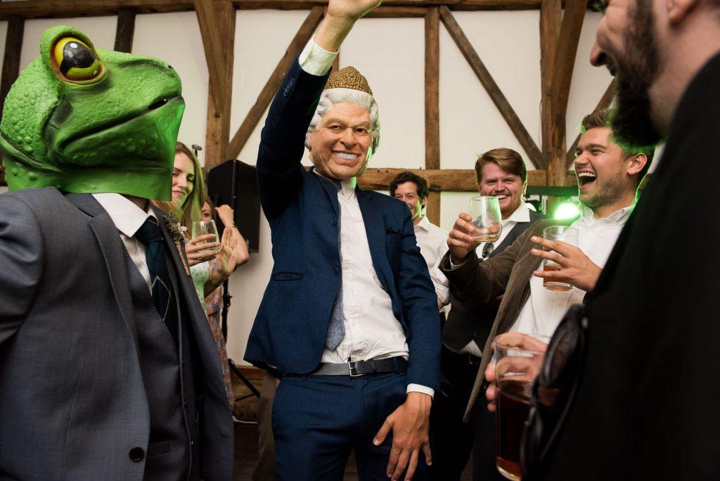 Fun dance floor wedding photography Surrey