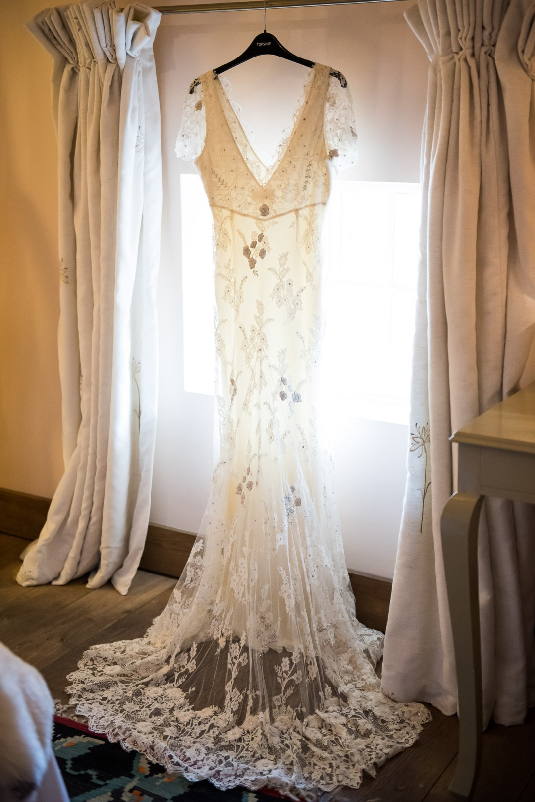 Alice Temperely wedding dress
