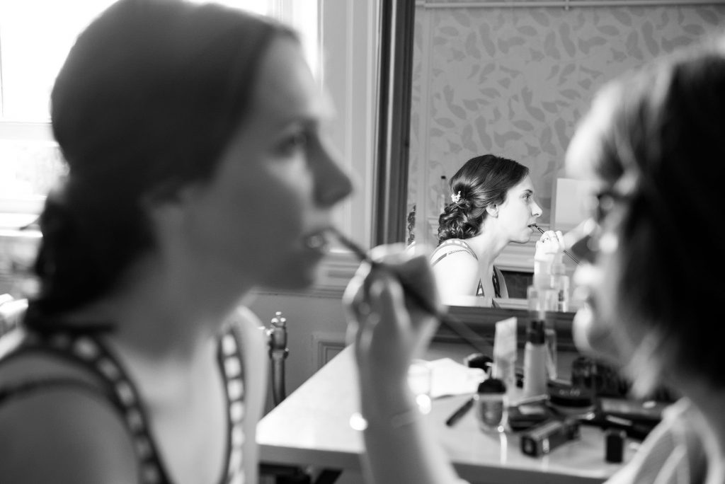 Bridal preparation Surrey wedding