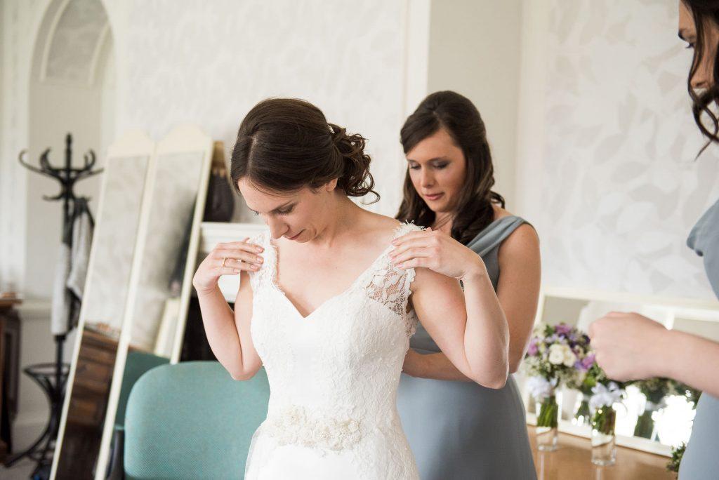 Bridal prep pre wedding photography Surrey