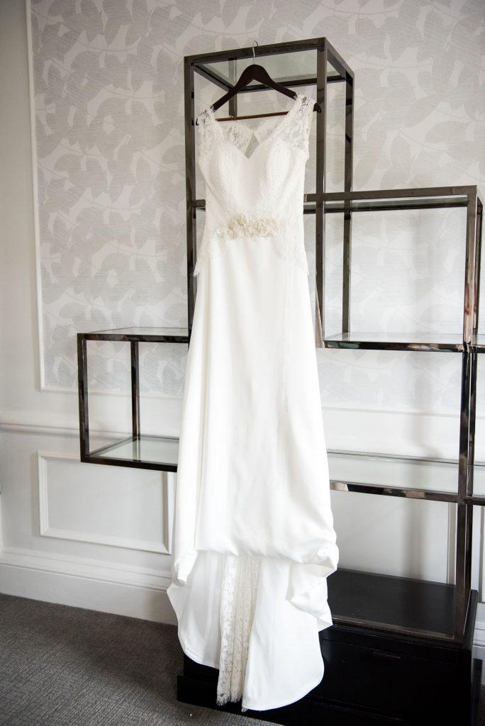 Gorgeous wedding dress from Farnham Boutique