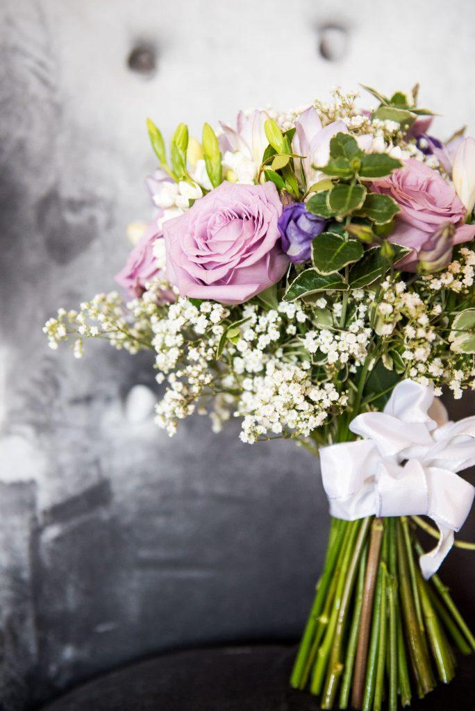Beautiful bridal bouquet Surrey wedding