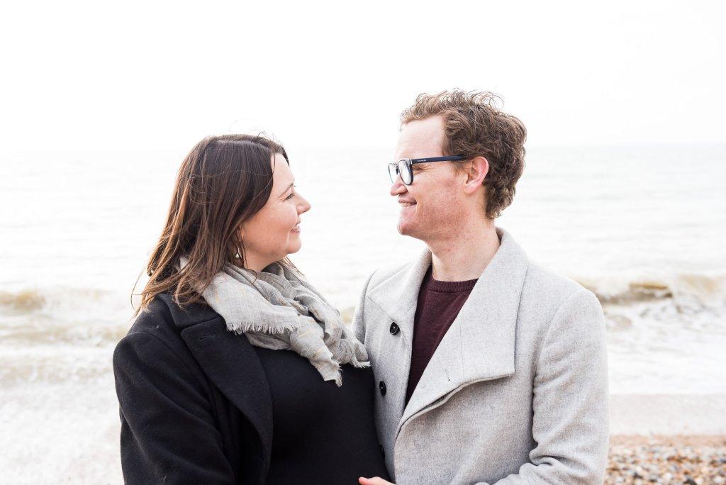 Natural couples portrait Brighton