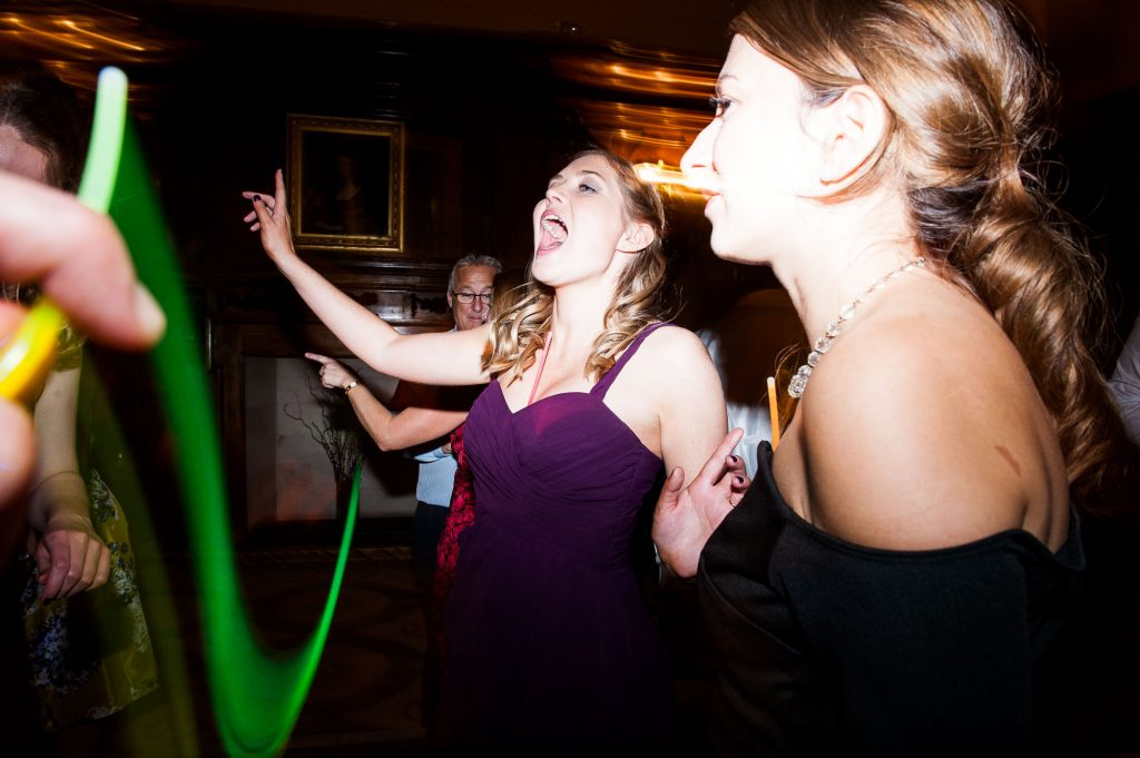 Ashridge House Wedding. Natural Wedding Photography. Creative and fun dance floor photography.