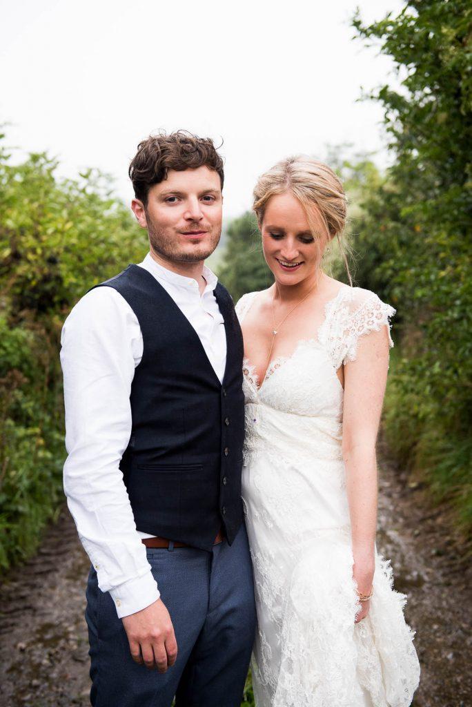 Park House Barn, Rustic Barn Wedding, Natural Wedding Portraits Bohemian Bride and Groom