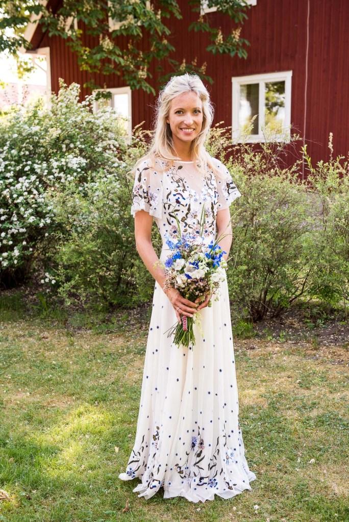 Swedish Wedding - Kroksta Gard Wedding - Gorgeous Boho French Connection Bride