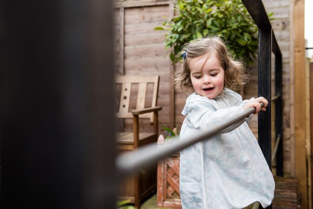 Surrey Family Photography, Candid Childhood Portrait