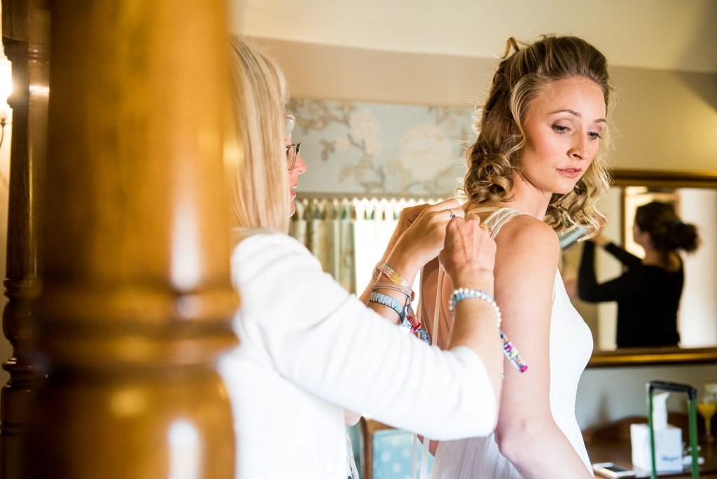 Inkersall Grange Farm Wedding - Same Sex Wedding Photography - Bridal Preparation Photography