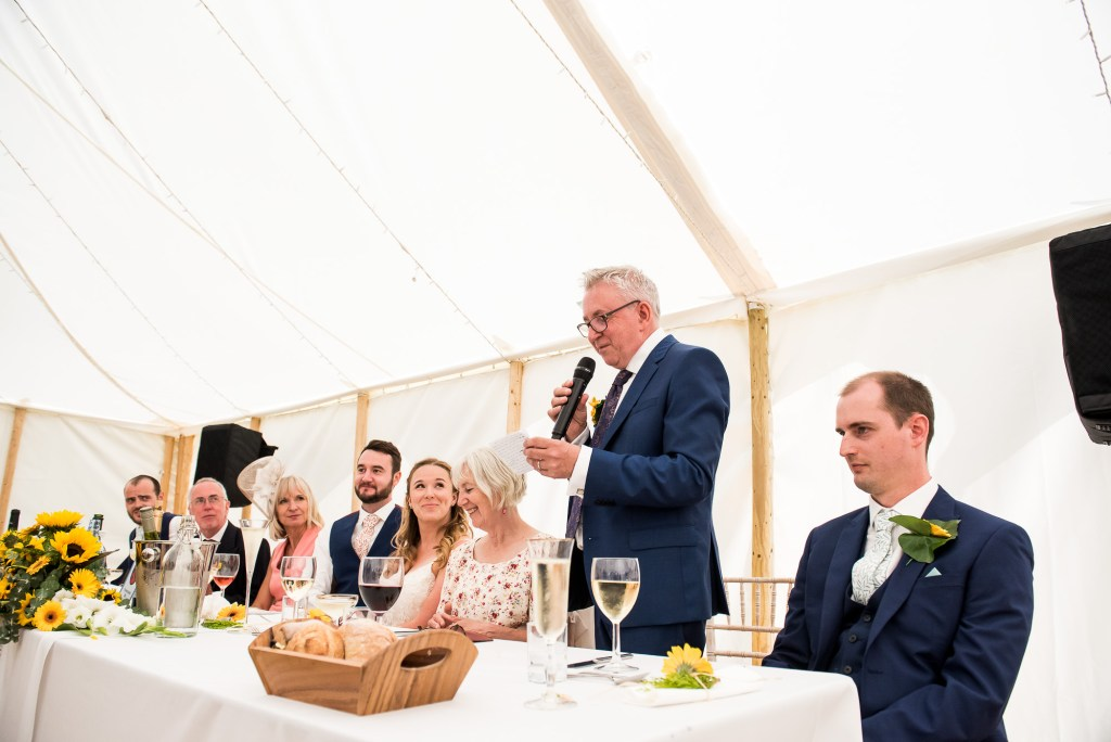 Father of The Bride Gives His Wedding Speech
