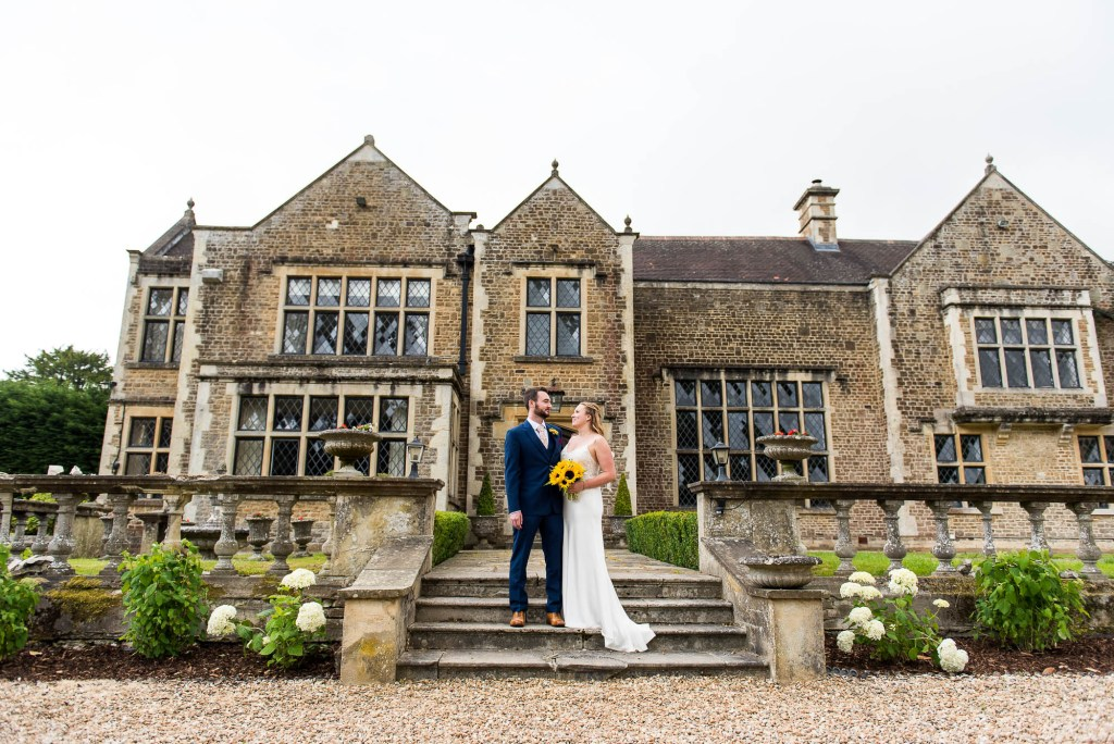 Outdoor Wedding Ceremony, Surrey Wedding Photography, Gorgeous Catherine Deane Bride and Groom Natural Couples Portraits