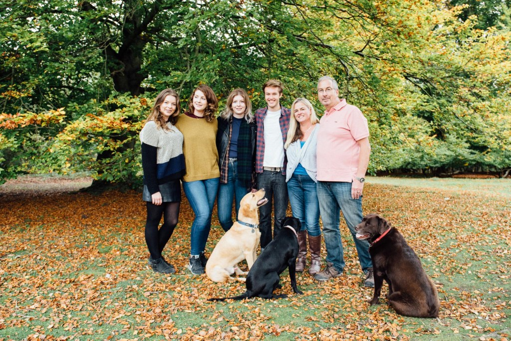 Surrey Family Photography, Casual and Relaxed Family Portrait