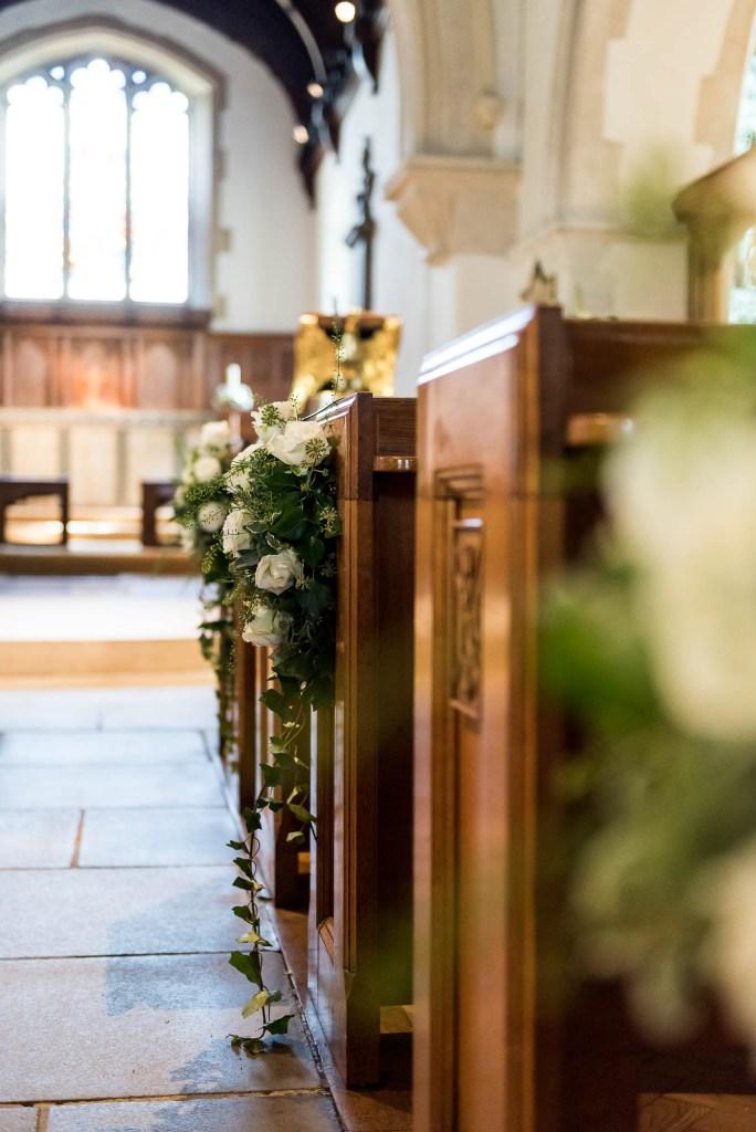 Chobham Church Interior, Surrey Wedding Photography