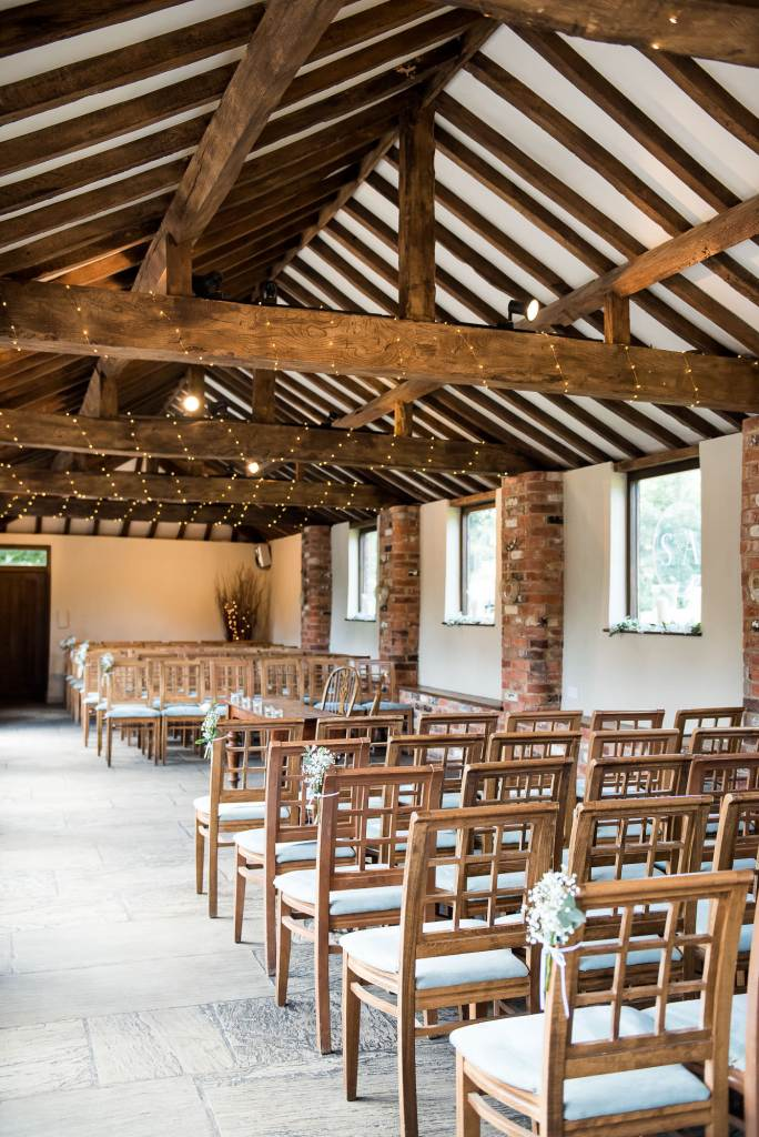 lgbt wedding photographer, Dodmorr House wedding venue decorated with white flowers