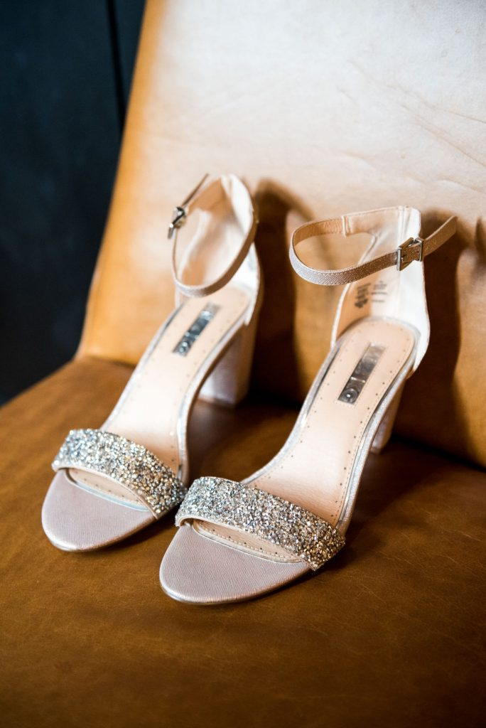 Old Marylebone Town Hall Wedding, Wedding shoes from Kurt Geiger
