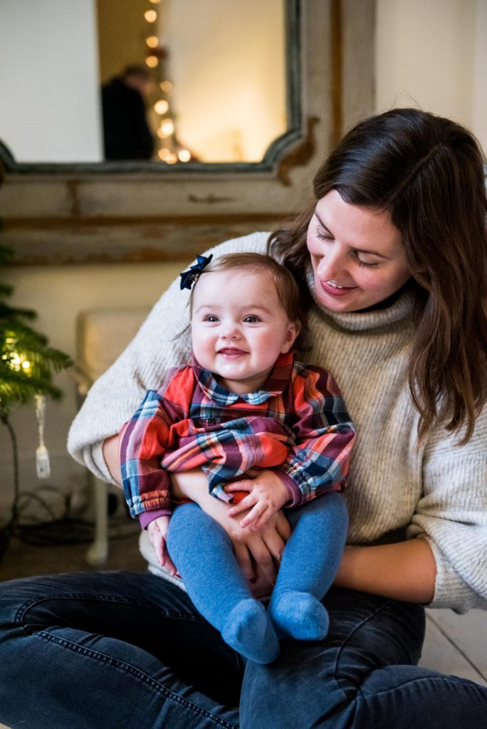 London Family Photography, mother and child have a candid moment