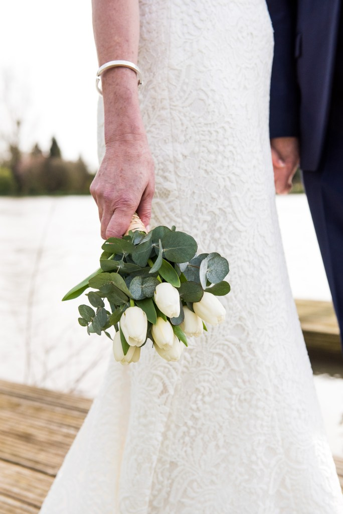 Marlow wedding, stylish and chic bridal bouquet