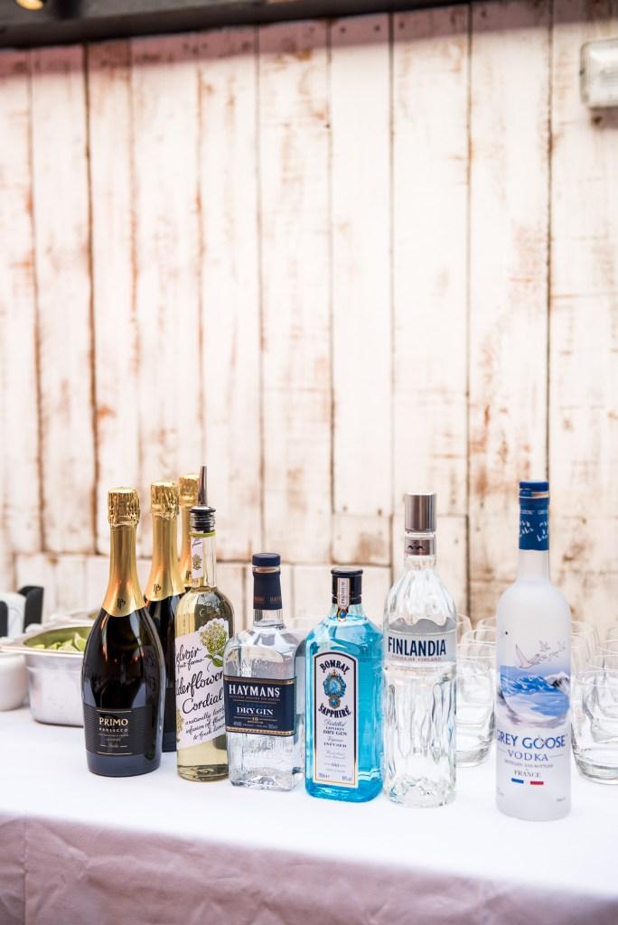 Wedding bar decor, Marlow wedding