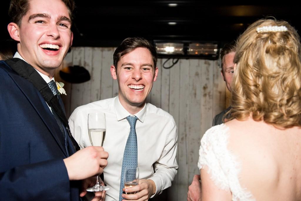 Buckinghamshire wedding photography, wedding reception at Marlow Bar and Grill