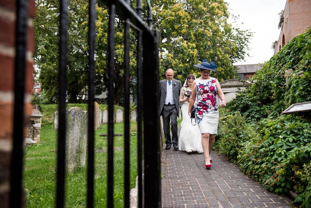 Candid documentary wedding photography Surrey