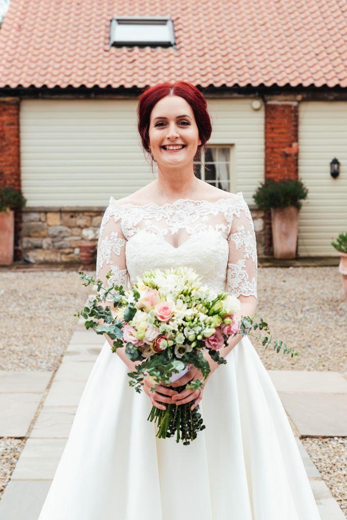 Natural bride, Yorkshire wedding photography