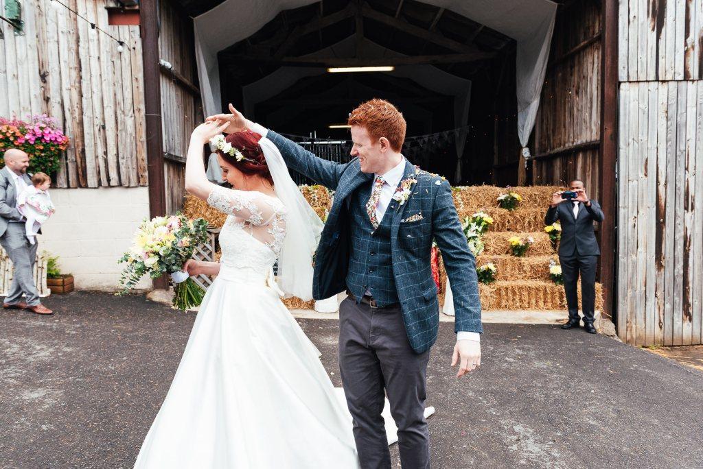 Fun, documentary wedding photography