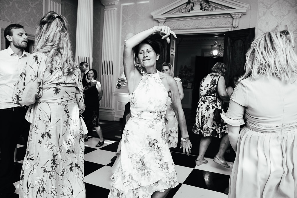 Lively and fun dance floor photography