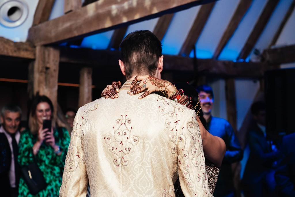 Wedding first dance details