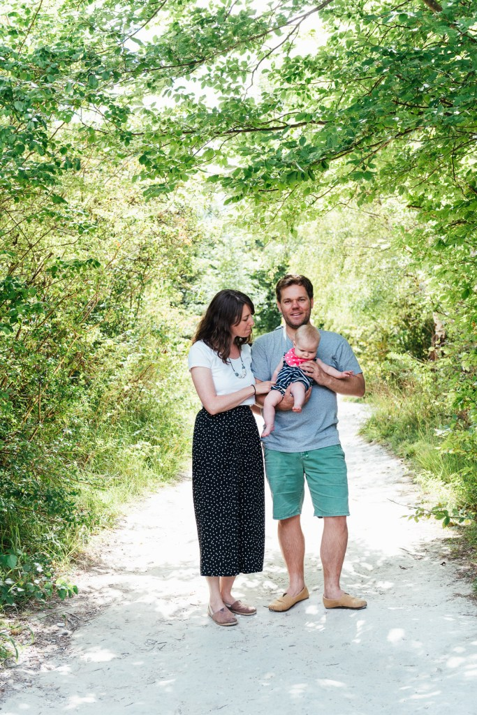 Relaxed and Natural Outdoor Baby Photography