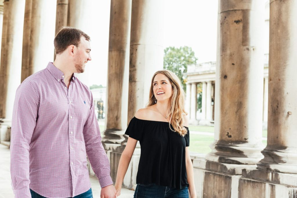 Relaxed Engagement Photography London