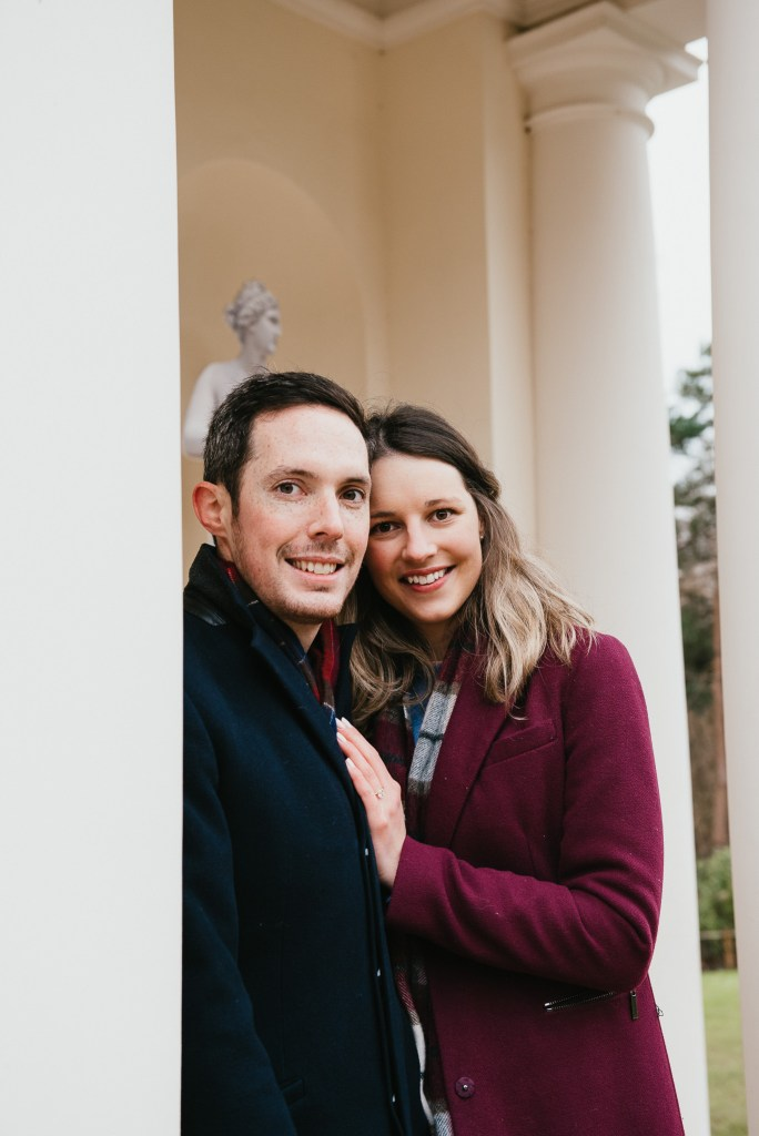 Relaxed and Candid Couples Pre-Wedding Shoot at Painshill Park