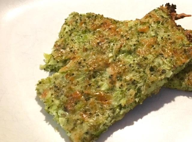 """Cheesy Broccoli """"Bread"""""""
