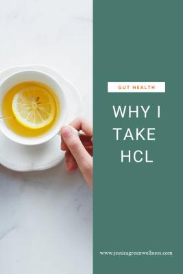 Why I take HCL pinterest