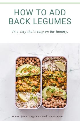 Add legumes