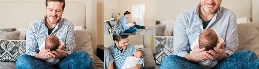 Luke's Dallas TX lifestyle newborn session