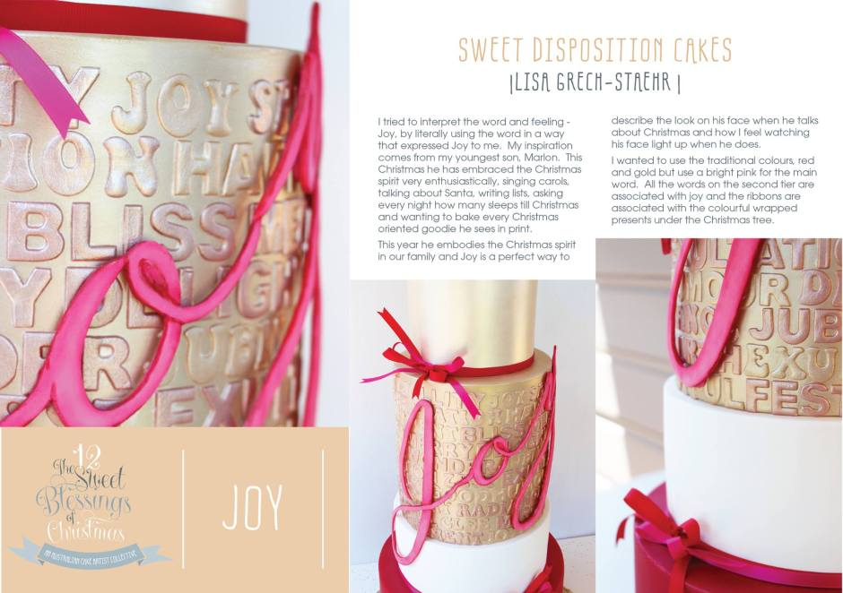 Dary 9 Joy Explained by Lisa Grech-Staehr of Sweet Disposition Cakes