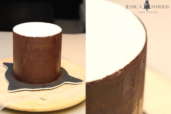 Ganached-cake
