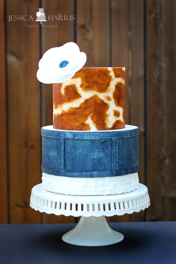 IMG_8637 Cow Hide Cake wm