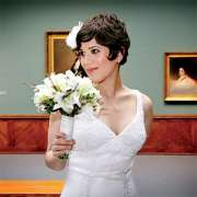 short hair brides jessica ann