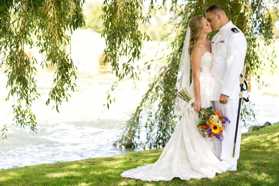 Allison And Jeremy Langdon Farms Oregon Wedding