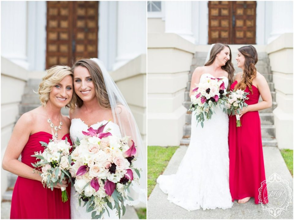 Elegant Southern Charcoal and Maroon Wedding_0023
