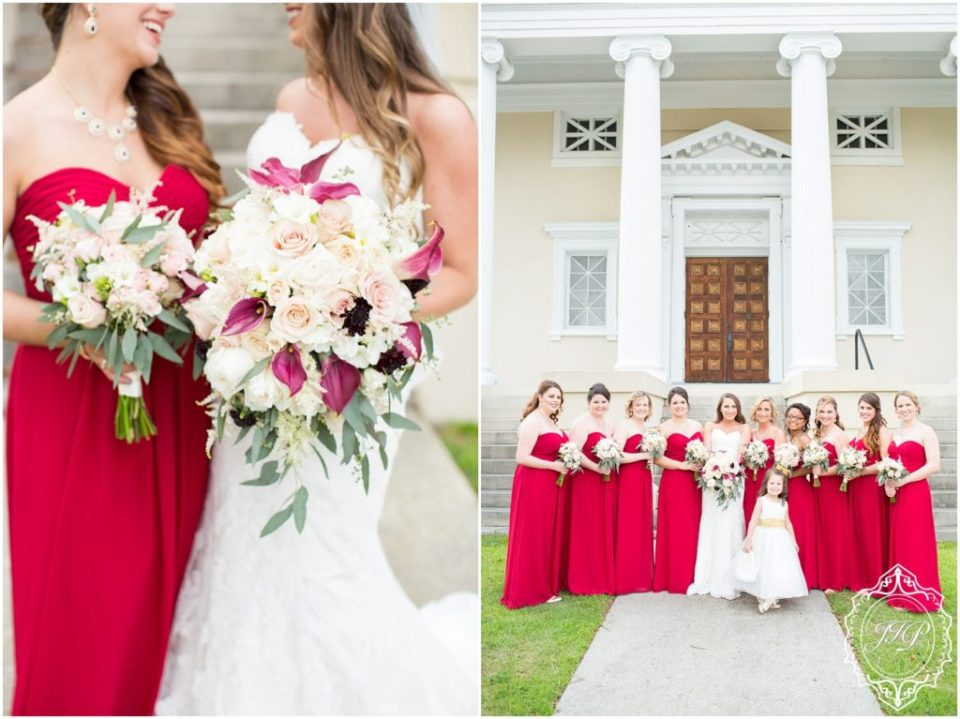 Elegant Southern Charcoal and Maroon Wedding_0024