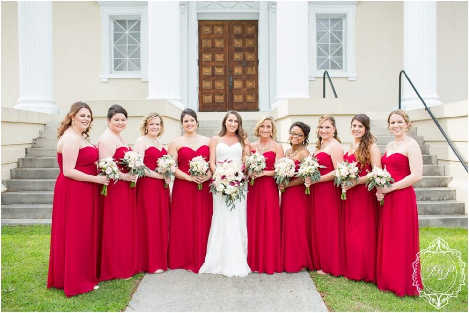Elegant Southern Charcoal and Maroon Wedding_0027