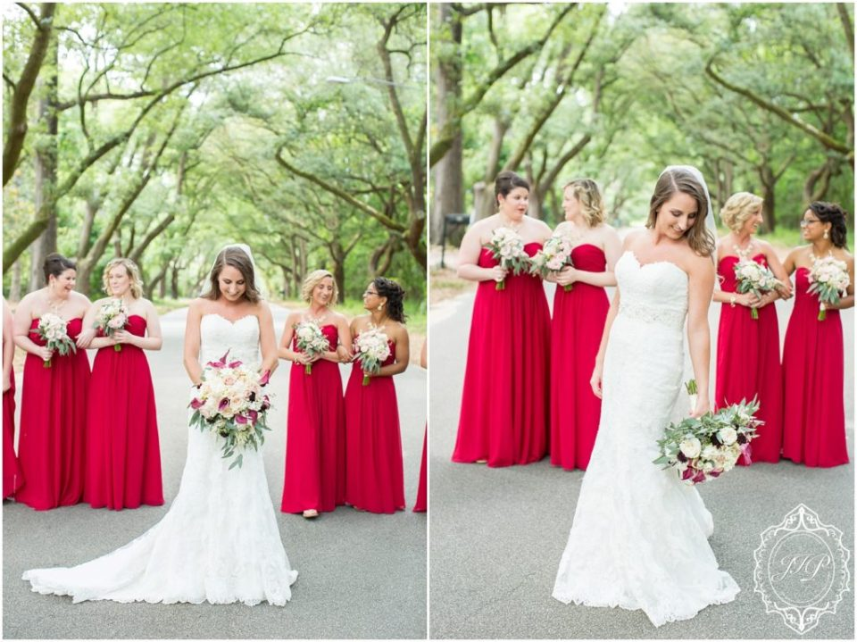 Elegant Southern Charcoal and Maroon Wedding_0029