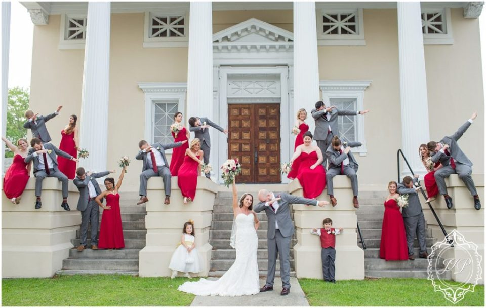Elegant Southern Charcoal and Maroon Wedding_0055