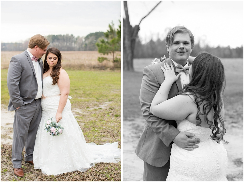 Bride and groom reveal photos