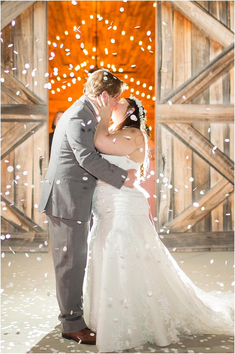 Bride and Groom Exit Photo