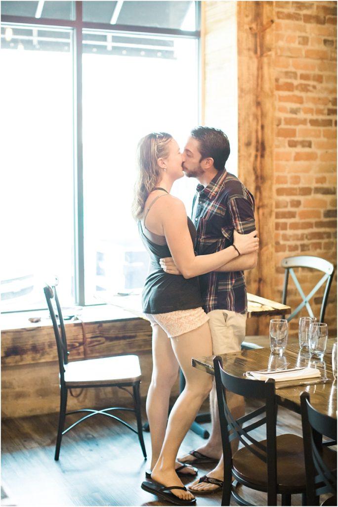 surprise proposal couple reaction